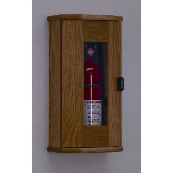 Fire Extinguisher Cabinet With Acrylic Door Panel By Wooden Mallet.