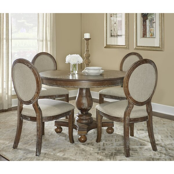 Hallows Creek 5 Piece Dining Set by One Allium Way