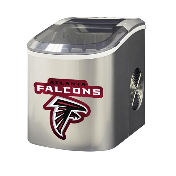 NFL 26.5lb. Daily Production Portable Ice Maker by