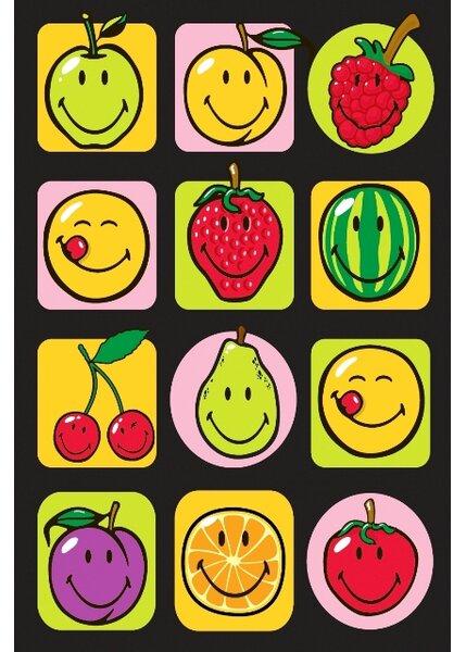 Smiley World Fruitti Area Rug by Fun Rugs