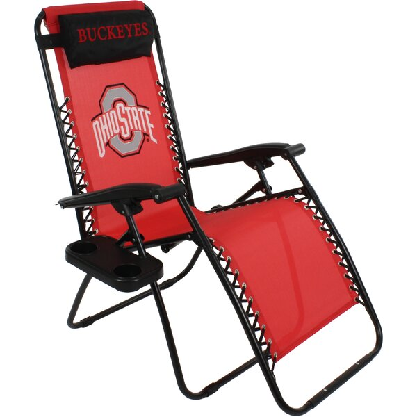 Reclining Zero Gravity Chair by College Covers College Covers