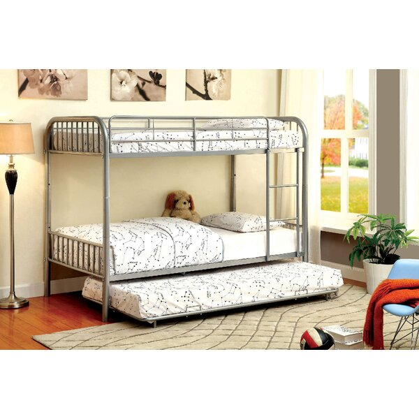 Cora Twin over Twin Bunk Bed by Harriet Bee
