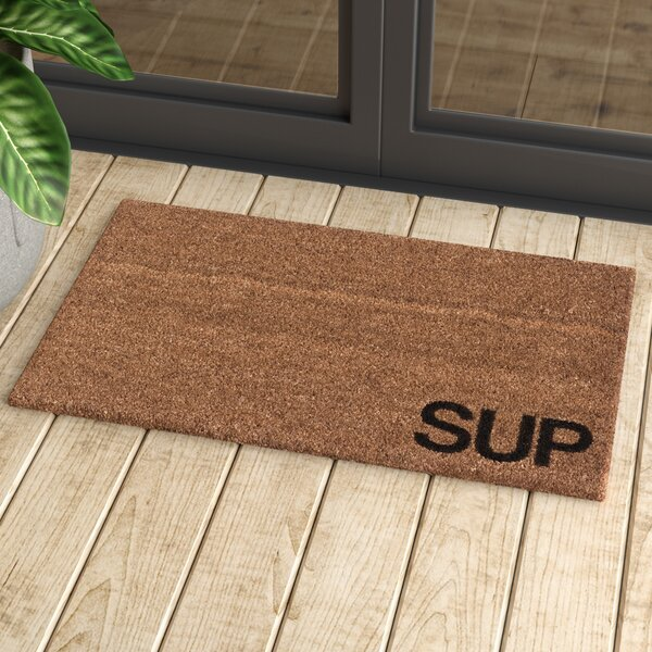 Vilen The Sup Doormat by Mercury Row