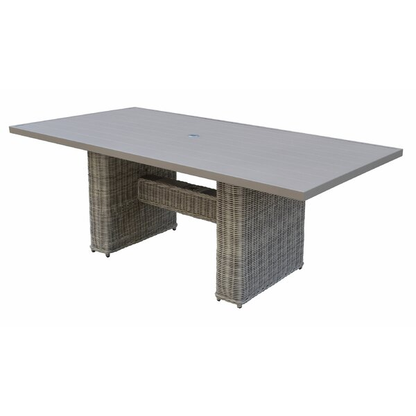 Claire Dining Table by Rosecliff Heights