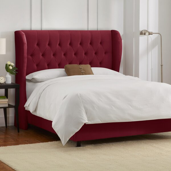 Sainte-Chappelle Upholstered Standard Bed by Skyline Furniture