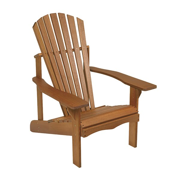 Lodge Wood Adirondack Chair by Arboria