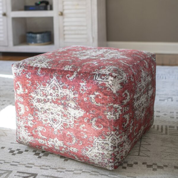 Huntleigh Square Pouf by Bloomsbury Market