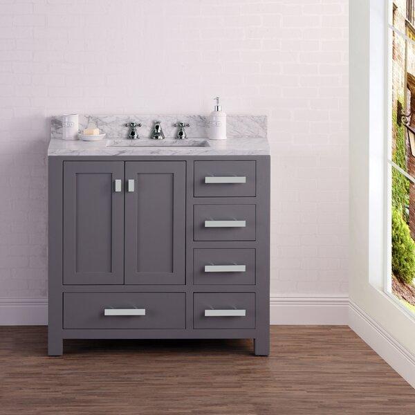 Clifford 36 Cashmere Single Bathroom Vanity Set by Ebern Designs