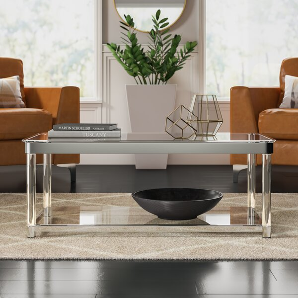 Benter Coffee Table with Tray Top by Mercury Row Mercury Row