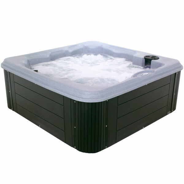 Andora 6-Person 40-Jet Spa with Lounger by Essential Spas