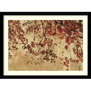 'Colorful Season' by Pela and Silverman Framed Painting Print by Amanti Art