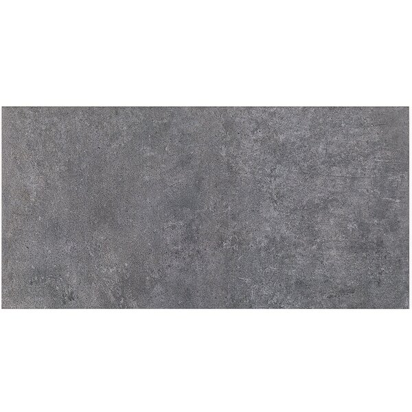 Malaga 12 x 24 Porcelain Field Tile in Smokey Gray by Splashback Tile