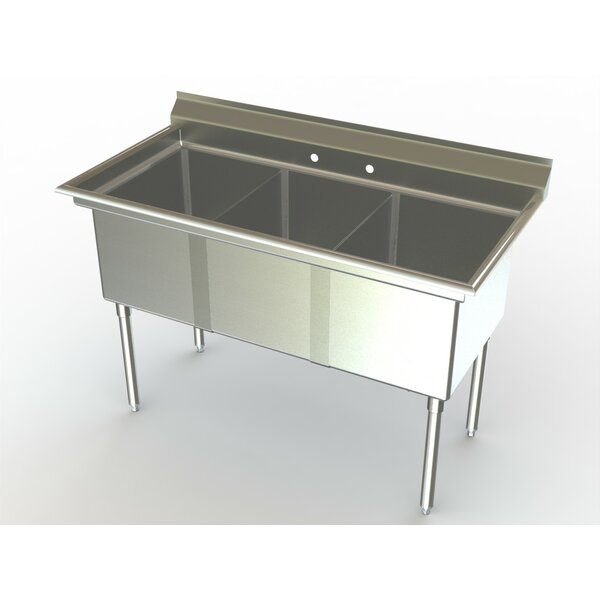 Deluxe NSF 60 x 27 Free Standing Service Sink by Aero Manufacturing