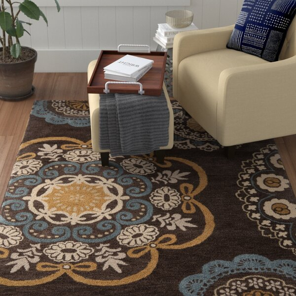Matthews Brown Tufted Area Rug by Winston Porter