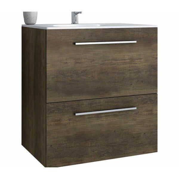 Woodbranch 30 Wall-Mounted Single Bathroom Vanity