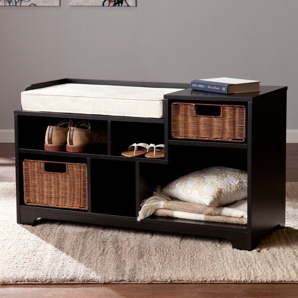 Conde Wood Storage Bench by Darby Home Co