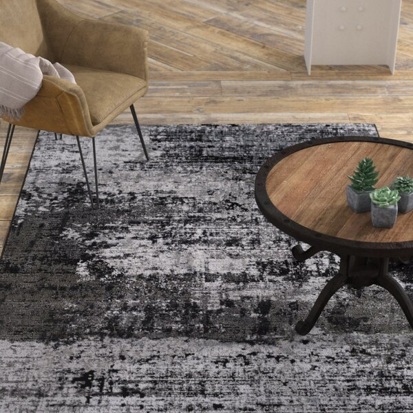 Daleville Gray Area Rug by Williston Forge
