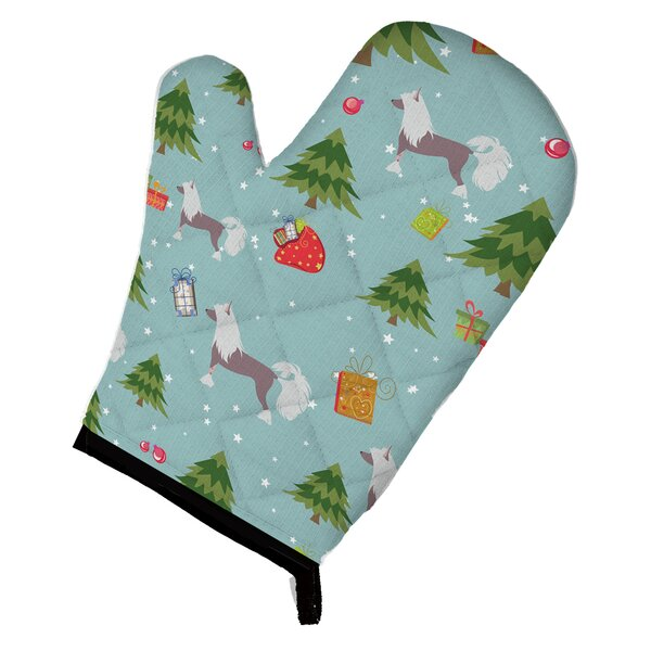 Christmas Chinese Crested Oven Mitt by Caroline's Treasures