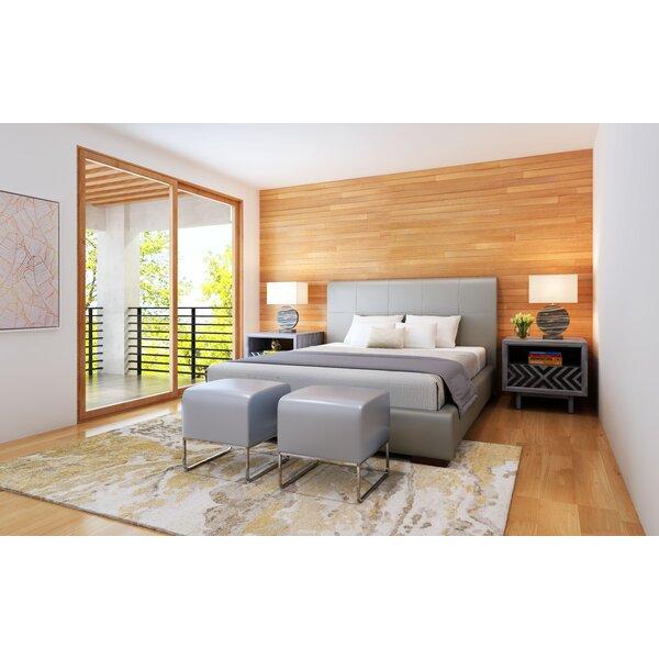Amelie Upholstered Sleigh Bed by Orren Ellis