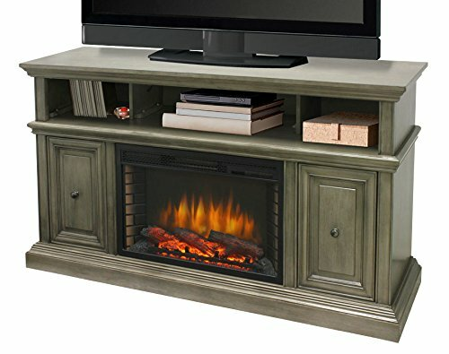 McCrea Media 58 TV Stand with Fireplace by Muskoka