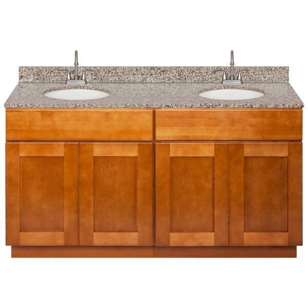 Strayer 60 Double Bathroom Vanity Set by Winston Porter