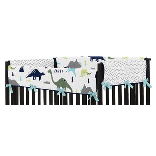 Affordable Price Mod Dinosaur Crib Side Rail Guard Cover (Set of 2) By Sweet Jojo Designs