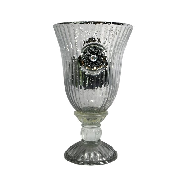 Kenilworth Glass Goblet (Set of 2) by Astoria Grand