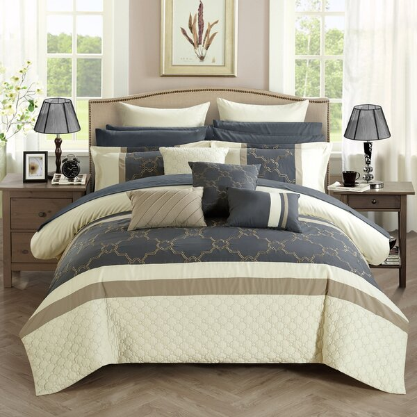 Camilia 16 Piece Comforter Set by Chic Home