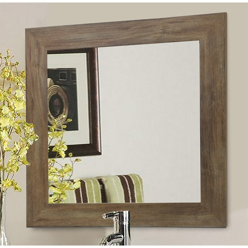 Rayne Mirrors Barnwood Wall Mirror Reviews