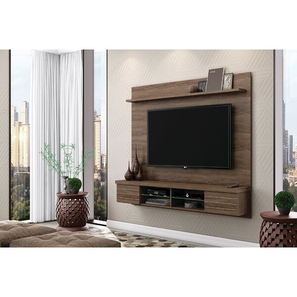 Purdy Floating Mount Entertainment Center For TVs Up To 70