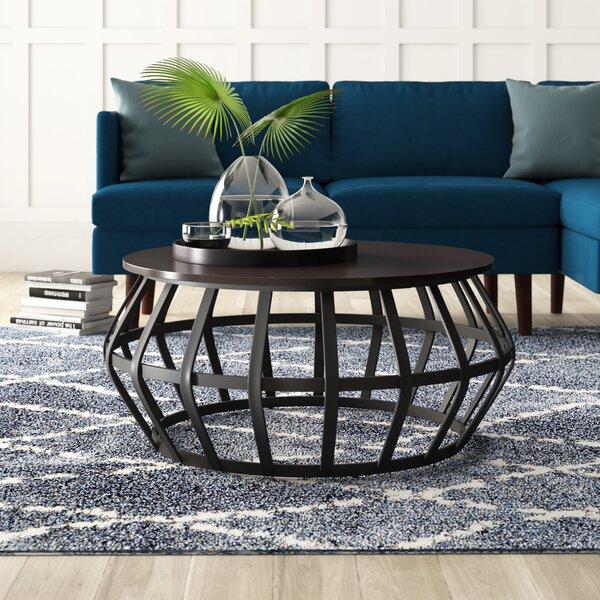 Arcturus Pedestal Coffee Table By Mercury Row