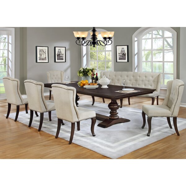 Kirt 7 Piece Dining Set by Canora Grey