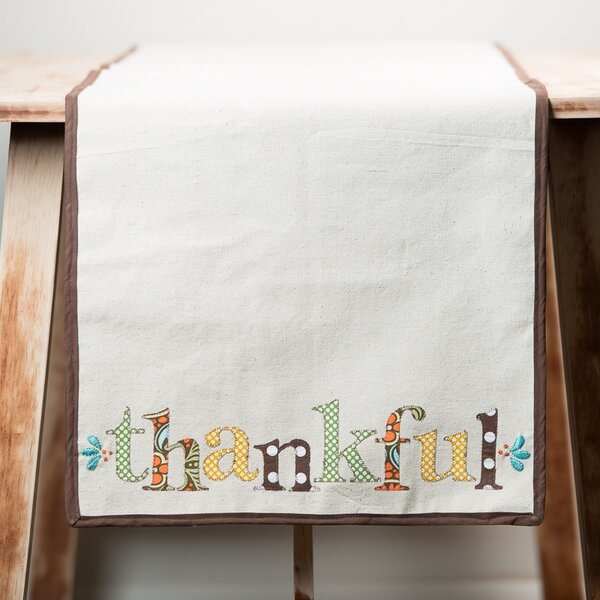 Thankful Table Runner by Glory Haus