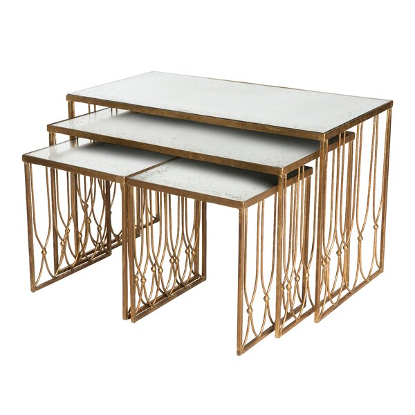 Grubb 4 Piece Nesting Tables by Aidan Gray