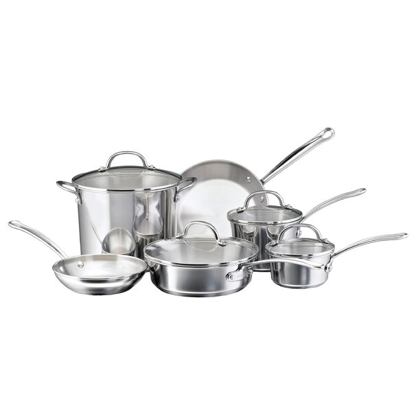 Millennium 10 Piece Cookware Set by Farberware