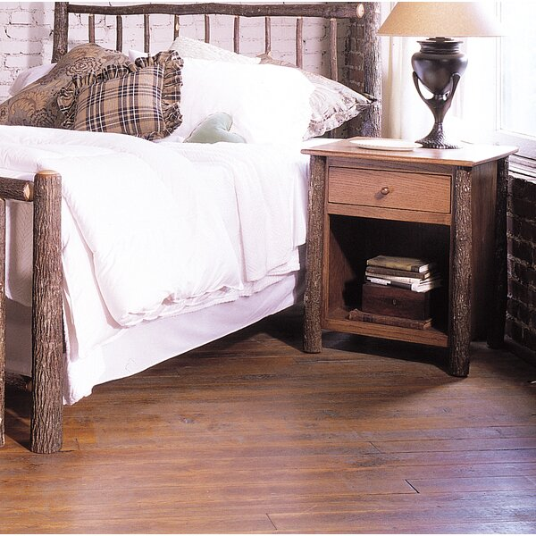 Lottie 1 Drawer Nightstand by Rosalind Wheeler