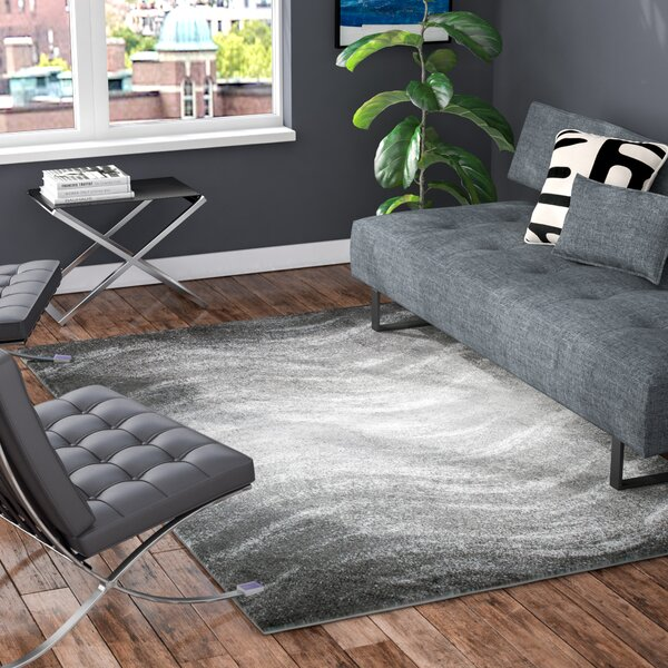 Bilboa Gray Area Rug by Wade Logan