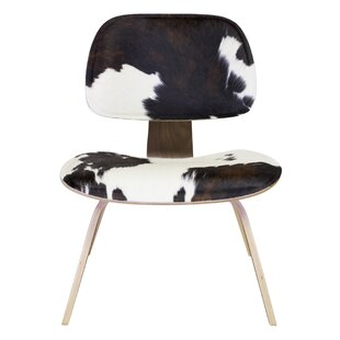 Merveilleux Cow Hide Lounge Chair