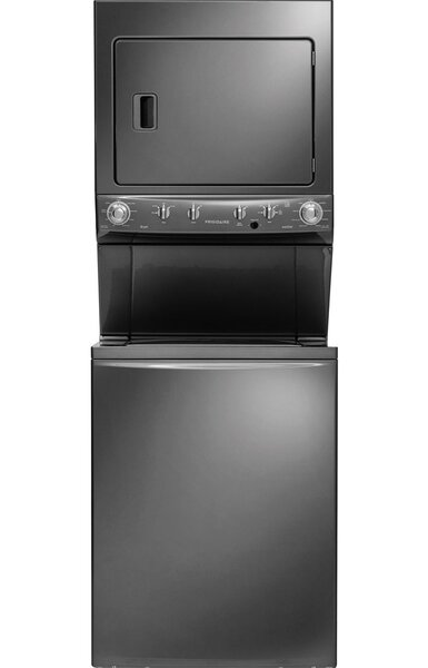 3.8 cu. ft. Energy Star High Efficiency Washer and 5.5 cu. ft. Gas Dryer Laundry Center by Frigidaire