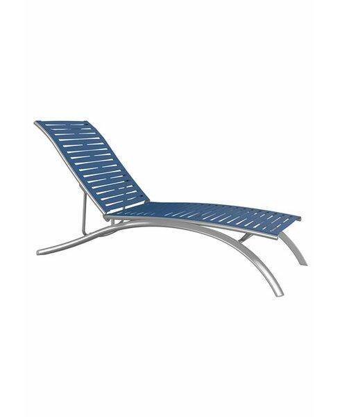 South Beach Elite EZ Span Ribbon Segment Reclining Chaise Lounge by Tropitone