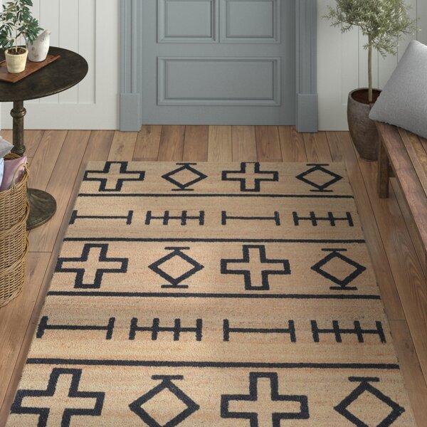 Casper Natural Hand-Woven Area Rug by Laurel Foundry Modern Farmhouse