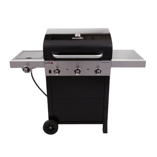 Performance TRU-Infrared 3-Burner Gas Grill by Cha
