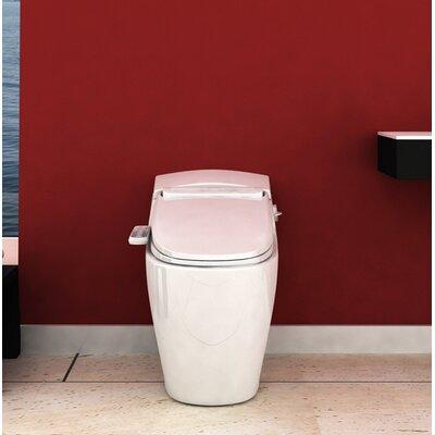 "Prestige Advanced Toilet Seat Bidet Bio Bidet Size: 7.28"" H x 19.4"" W x 20.6"" D"
