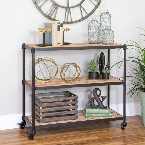 Vetter 3-Shelf Console Table by Gracie Oaks
