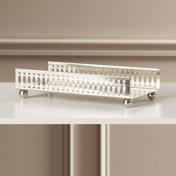 Dev Solid Rectangle Towel Accent Tray by Willa Arlo Interiors