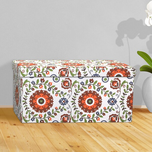 Tannen Storage Ottoman by Bungalow Rose