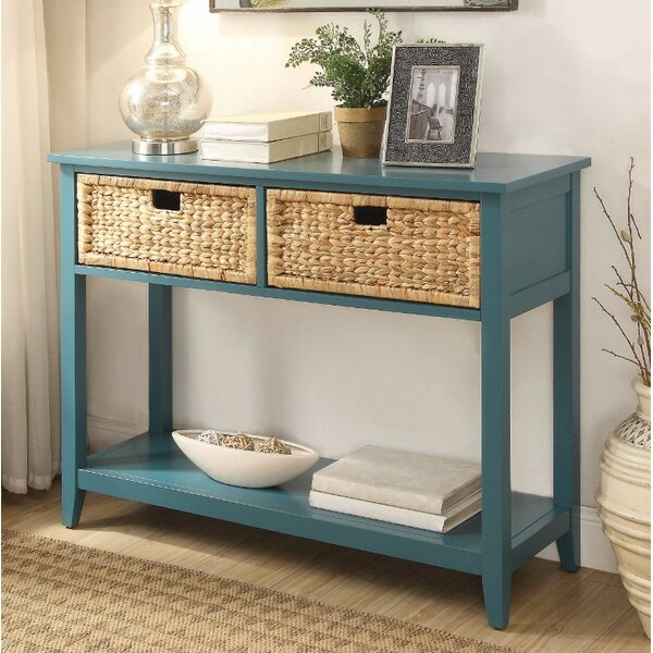 Bouknight 2 Drawer Console Table By Highland Dunes