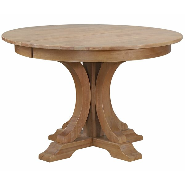 Granados Extendable Solid Wood Dining Table by August Grove August Grove