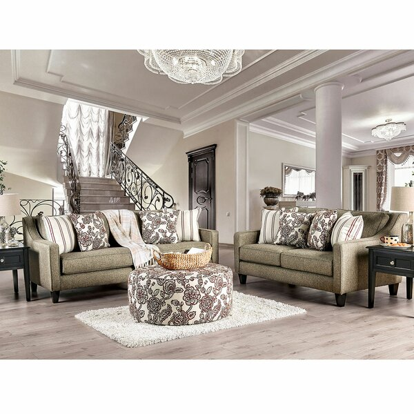 WoodWard 3 Piece Living Room Set by Canora Grey