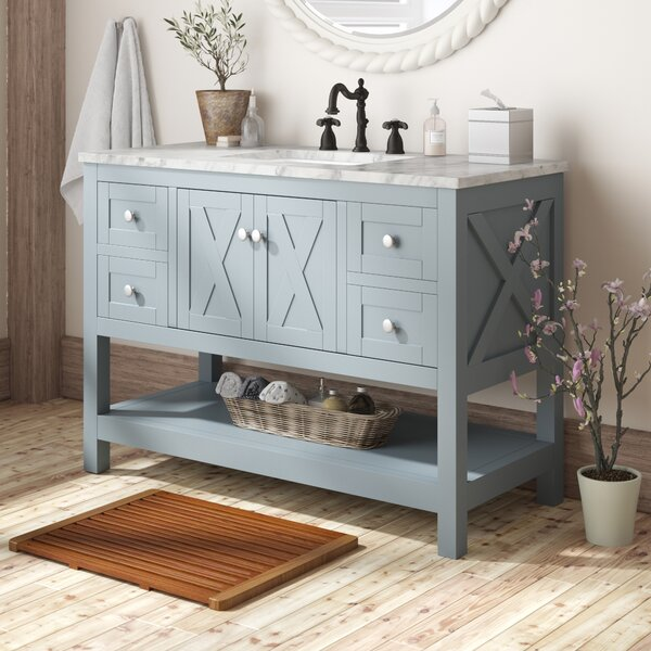Nantes 48 Single Bathroom Vanity Set by Lark Manor